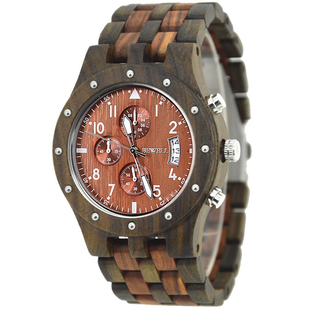 houten horloge heren plaatje